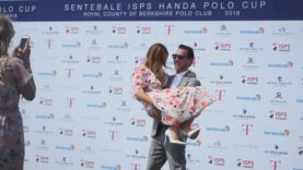 Ashley y Curt Busch –  Sentebale ISPS Handa Polo Cup