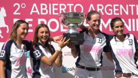 Cande Fernandez Araujo – Women's Argentine Open Final