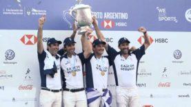 La Dolfina Champions of the 2018 Argentine Open