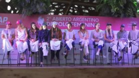 Presentación del Abierto Argentino de Polo Femenino – Lucas Monteverde & Hazel Jackson