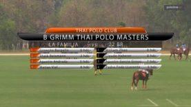 B Grimm Thai Polo Masters – La Familia v 22 BR