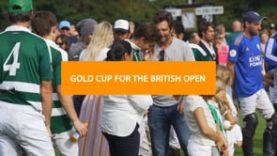 Ignatius Du Plessis – Gold Cup for the British Open Final