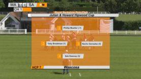 Julian & Howard Hipwood Final – Wascosa vs. Saracens
